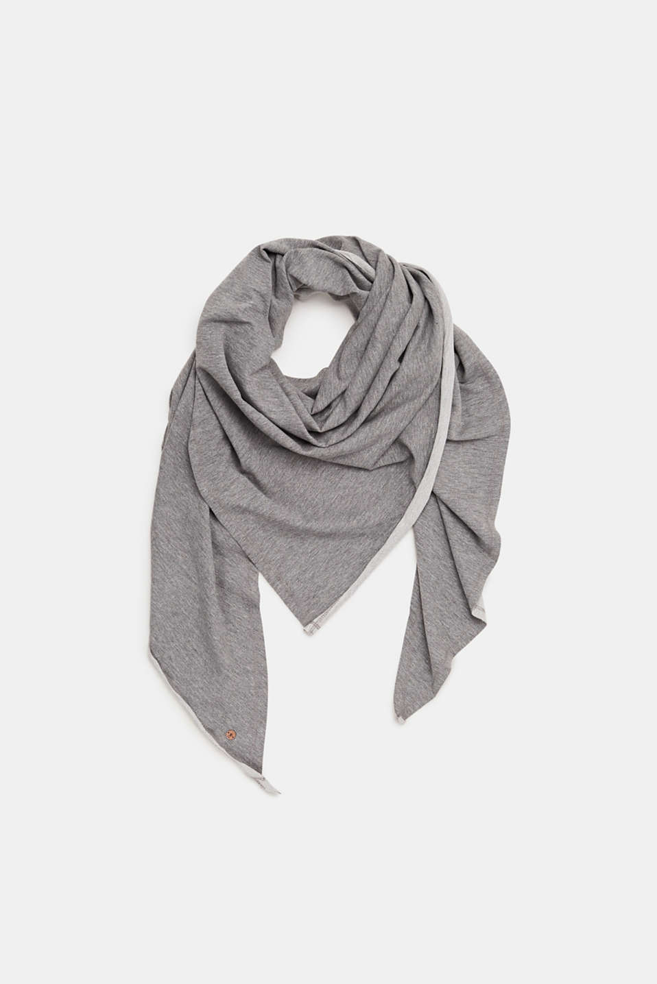 edc - Triangle scarf in blended cotton