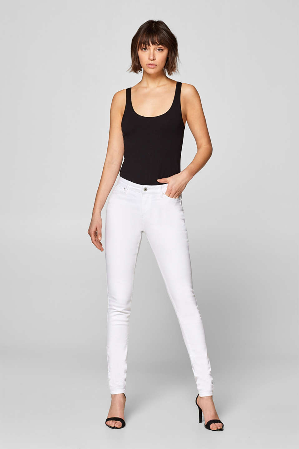 edc - Stretch jeans in a basic design