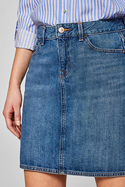 Esprit   Jupes en jean sur notre boutique en ligne   ESPRIT 99b0045cda6