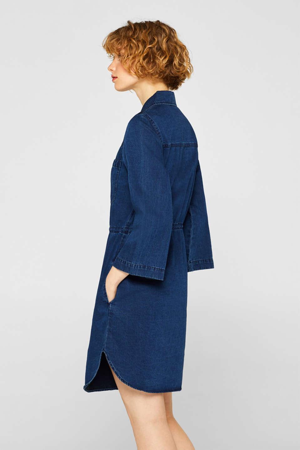 Dresses denim, BLUE DARK WASH, detail image number 1