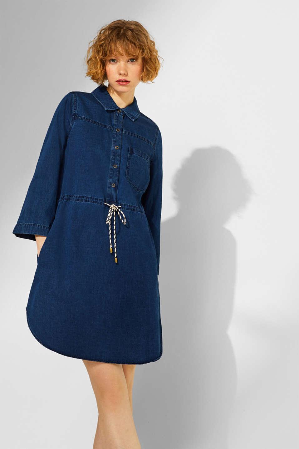 Dresses denim, BLUE DARK WASH, detail image number 5