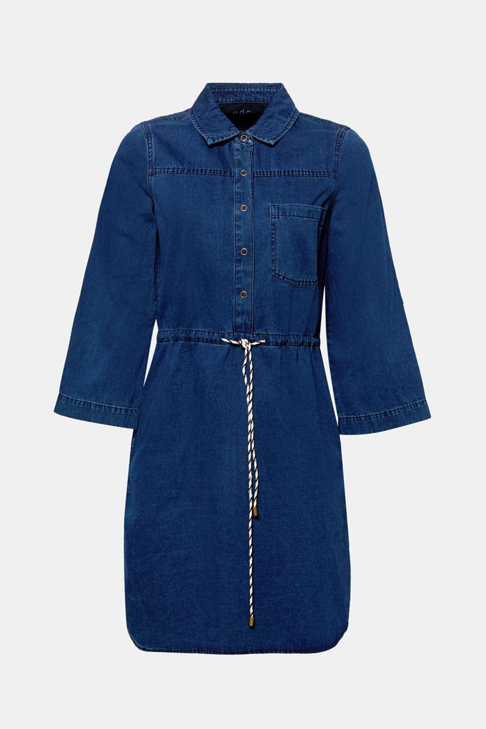Dresses denim, BLUE DARK WASH, detail image number 6