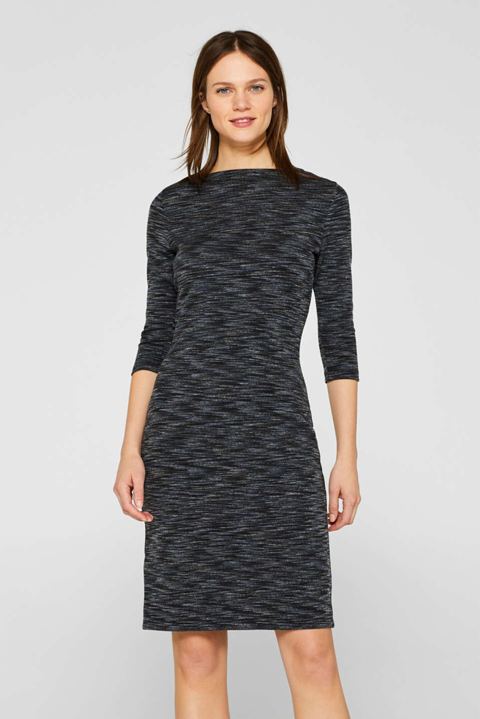 edc - Melange stretch jersey dress