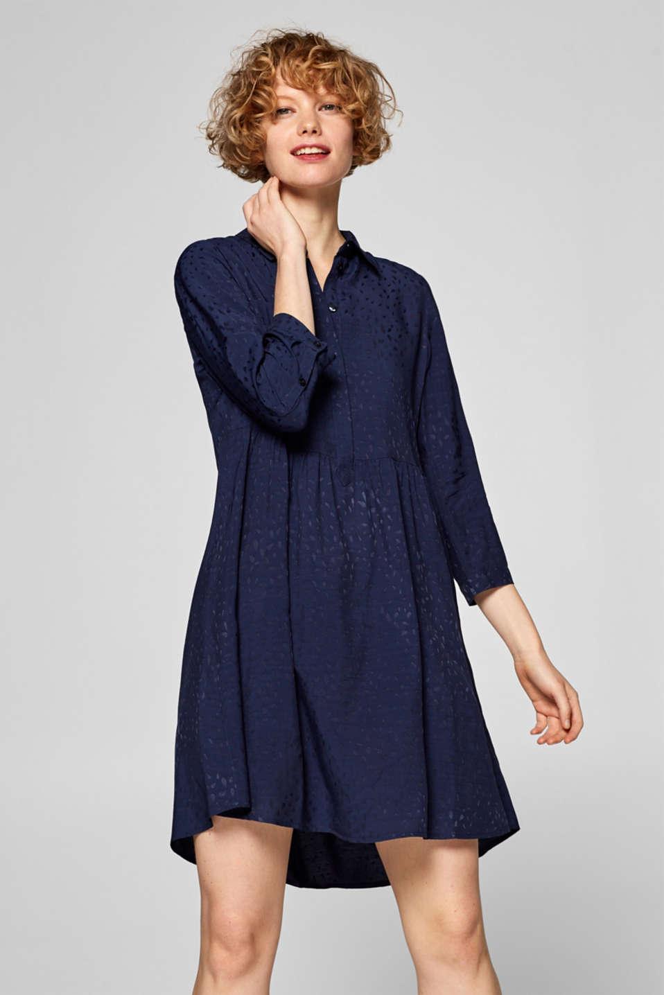 460e1bb6d785 edc - Skjortblusklänning i tältklänningsmodell i Esprits Online-Shop