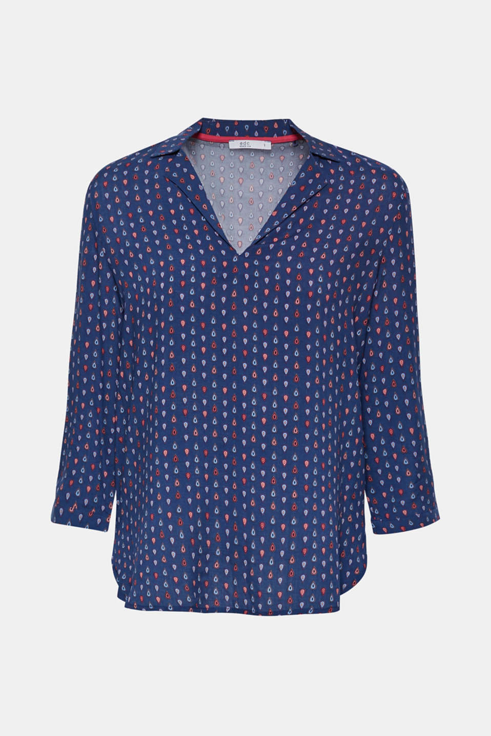 Blouses woven, NAVY, detail image number 6