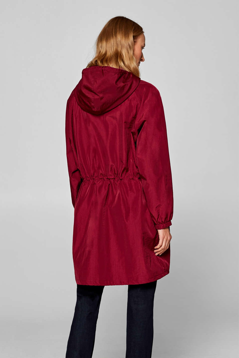 Coats woven, BORDEAUX RED, detail image number 3