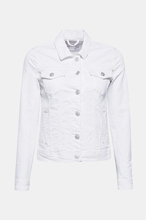 Stretch denim jeans in a fitted cut