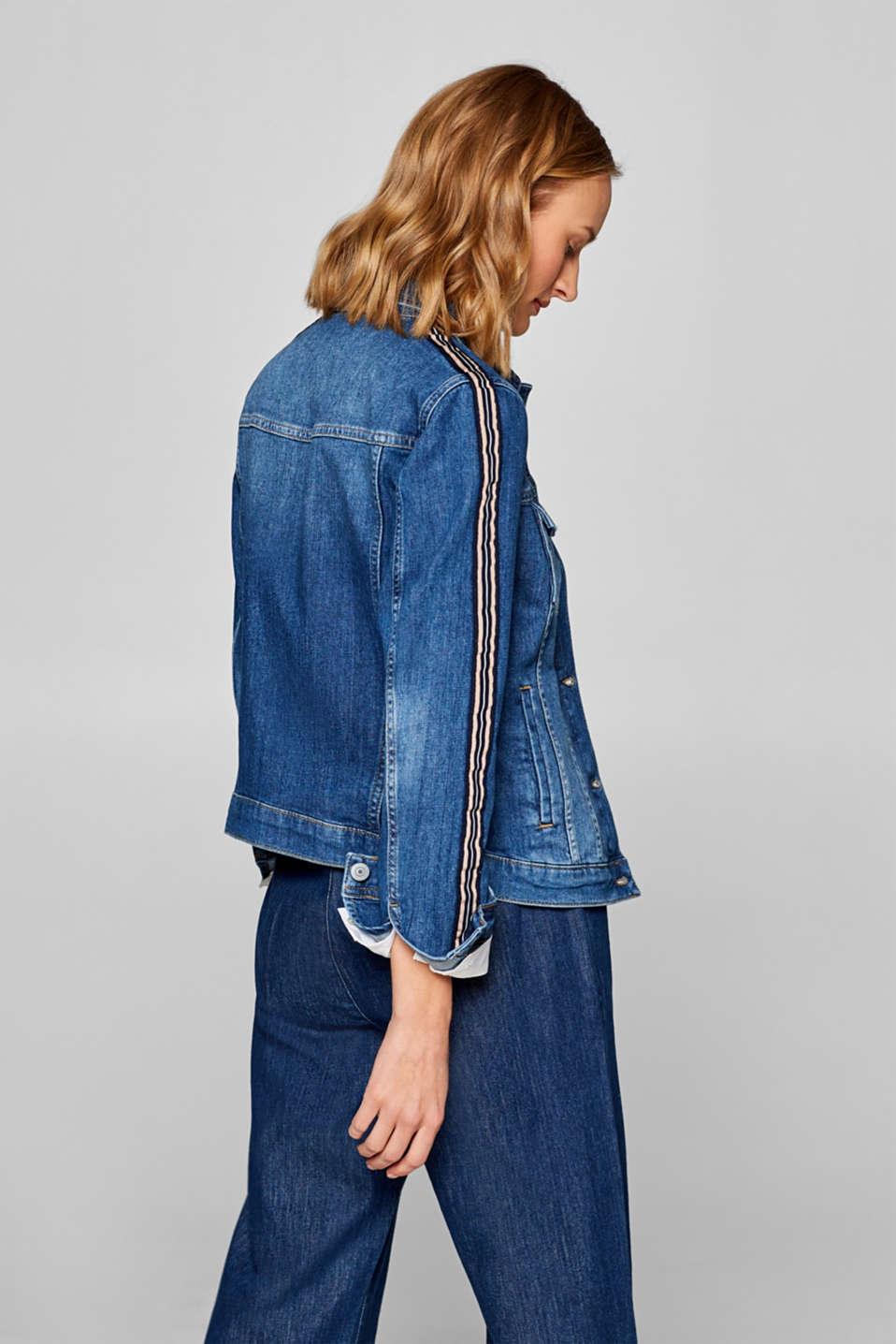 Jackets indoor denim, BLUE MEDIUM WASH, detail image number 3
