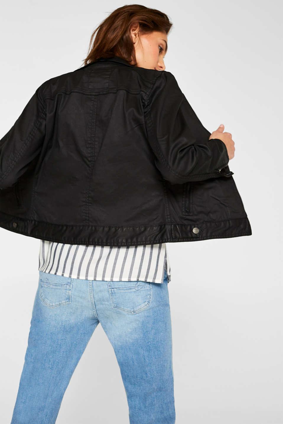 Jackets indoor woven, BLACK, detail image number 3