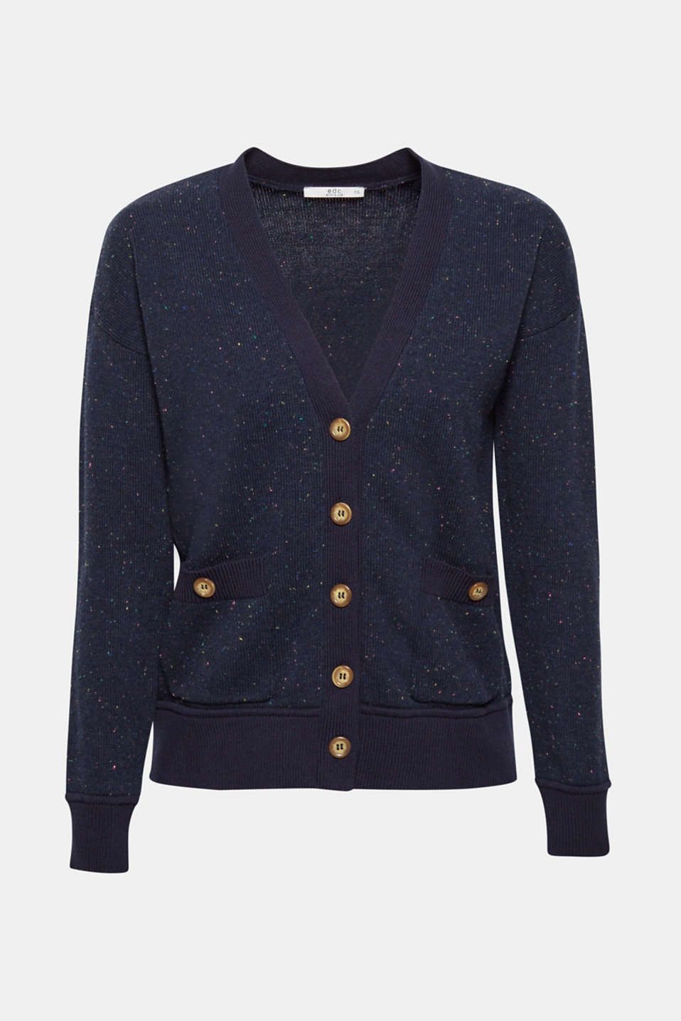 Sweaters cardigan, NAVY, detail image number 7