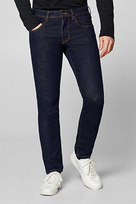 Jeans elasticizzati con cuciture color tabacco ab8424a1ec0