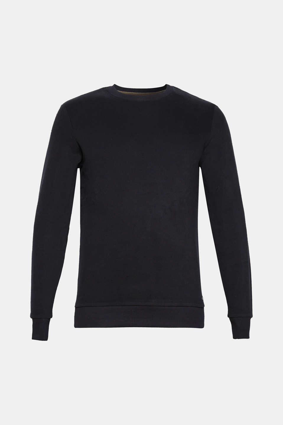 Sweatshirts, BLACK, detail image number 7
