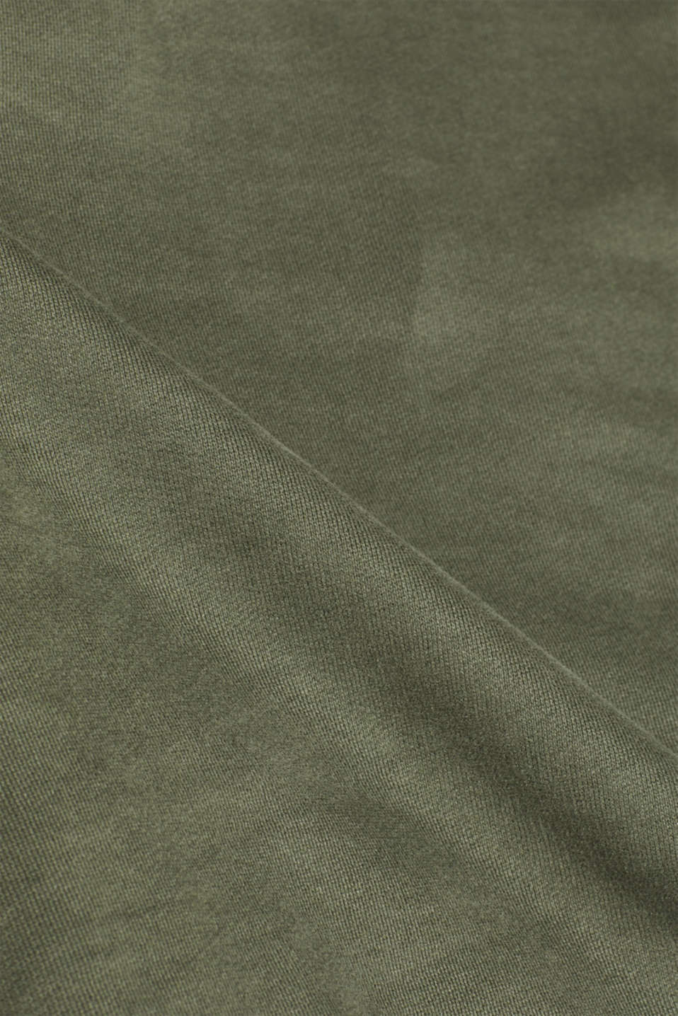 Sweatshirt in 100% cotton, KHAKI GREEN, detail image number 3