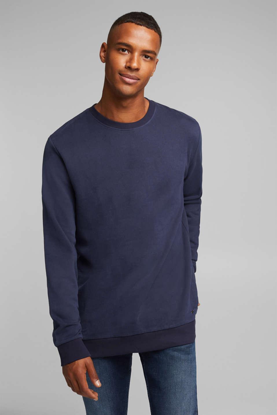 Sweatshirts, NAVY, detail image number 0