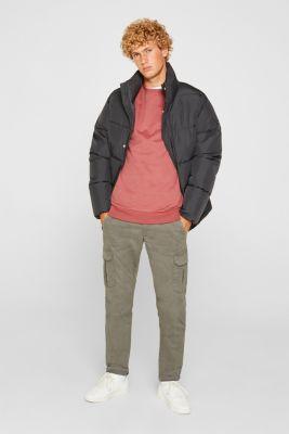 Sweatshirt in 100% cotton, BLUSH, detail