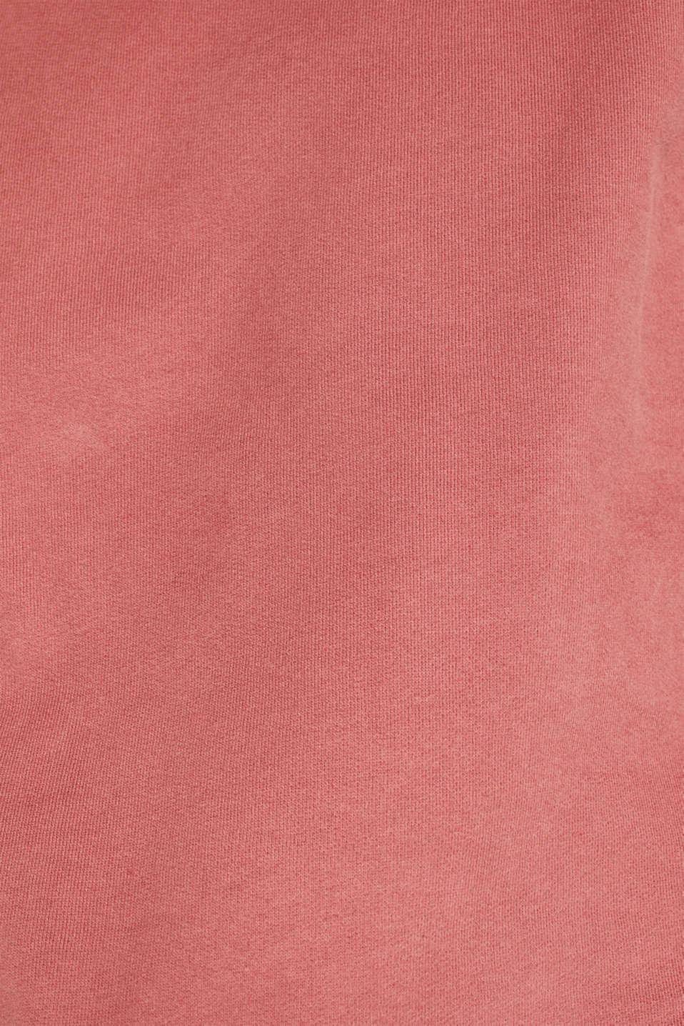 Sweatshirt in 100% cotton, BLUSH, detail image number 4
