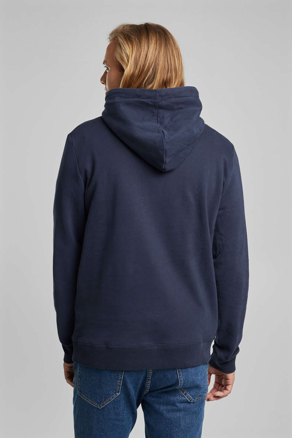 Sweatshirts, NAVY, detail image number 3