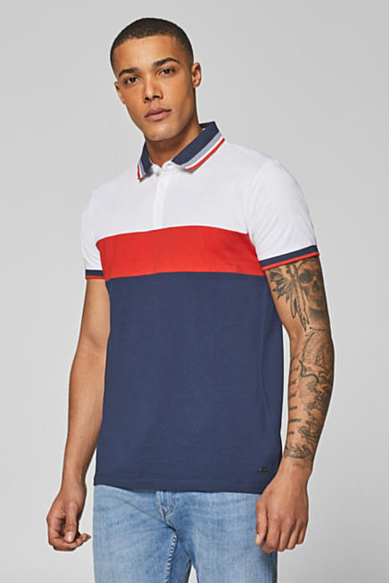 586bdf3fed9 Jersey polo shirt in 100% cotton