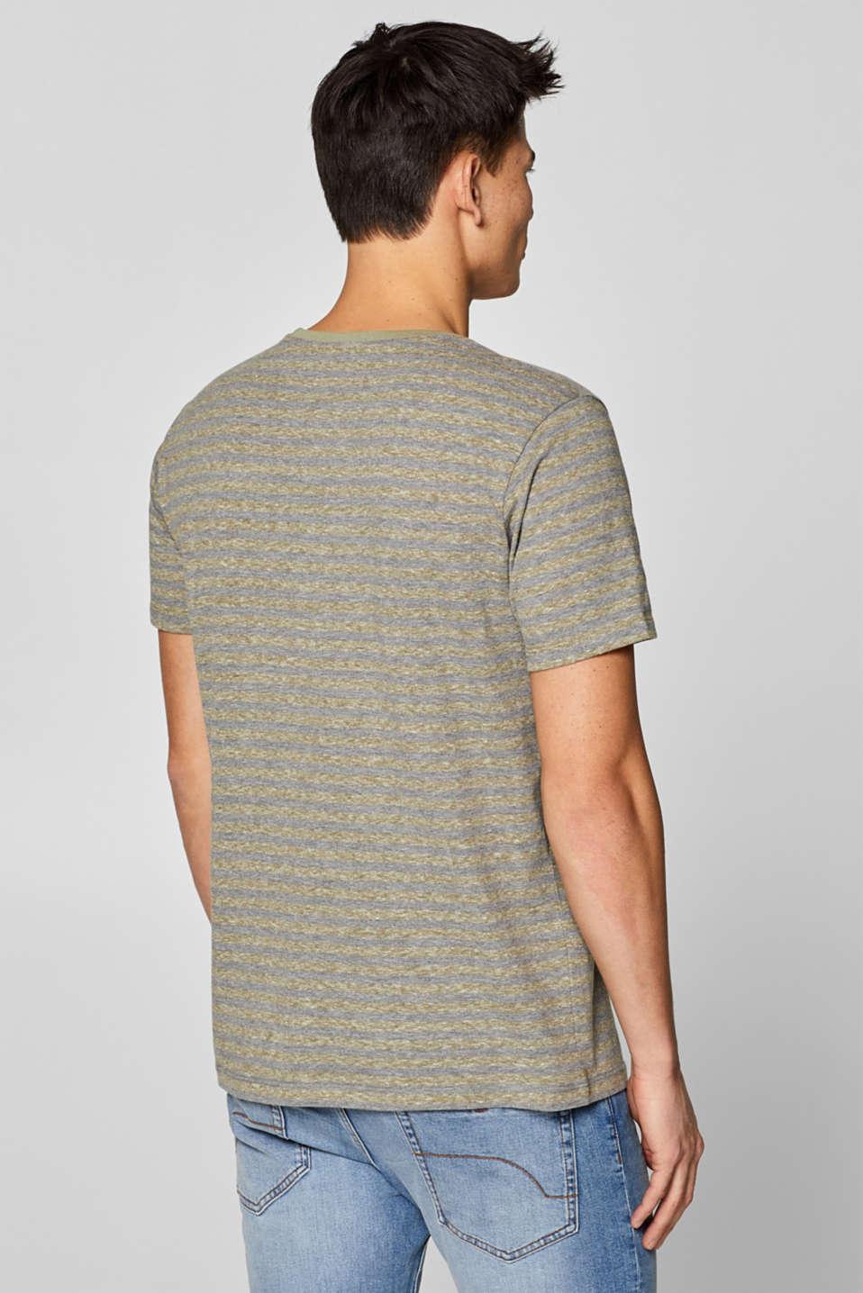 T-Shirts, OLIVE, detail image number 3