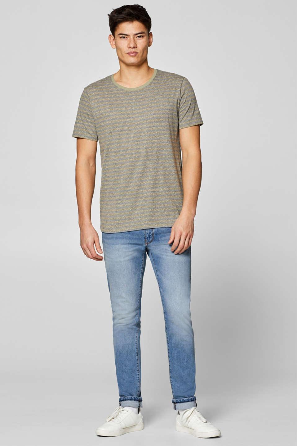 T-Shirts, OLIVE, detail image number 4