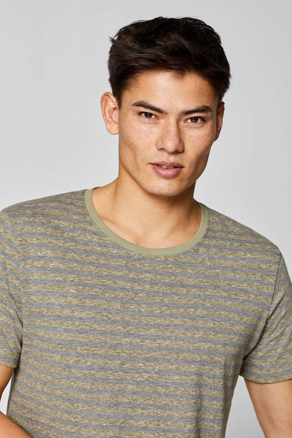 T-Shirts, OLIVE, detail image number 6