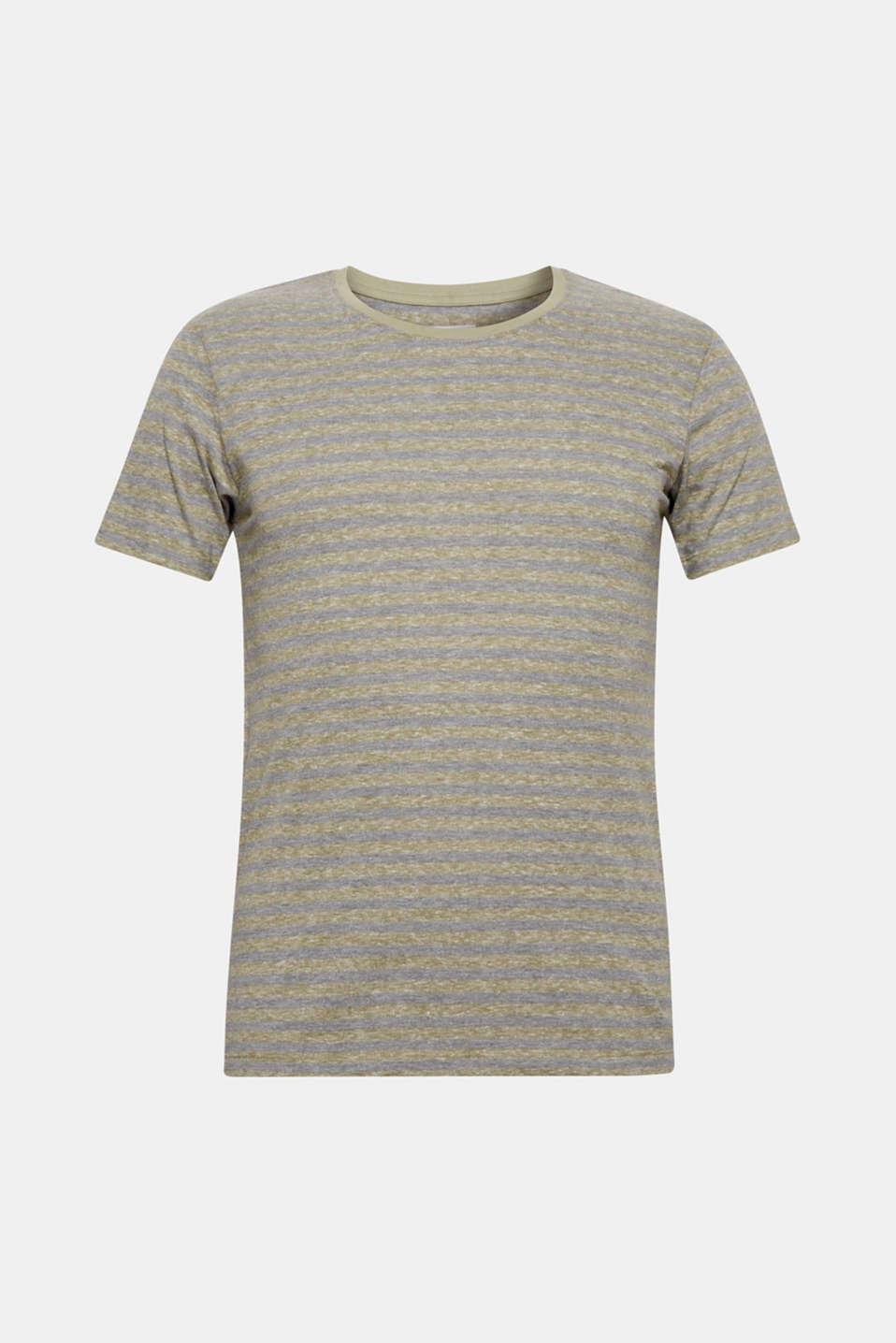 T-Shirts, OLIVE, detail image number 7