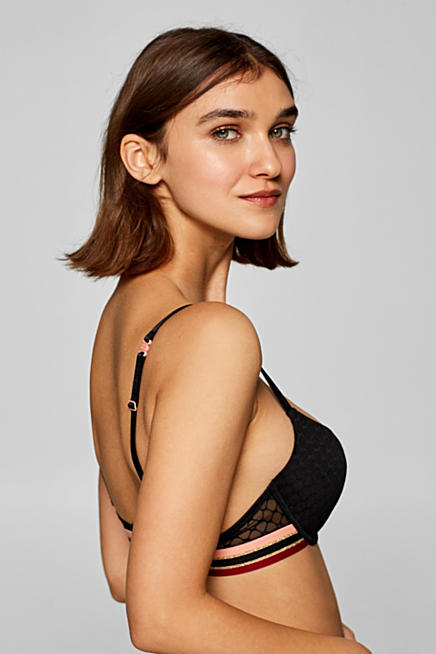 13b2786799 Push-up bra with decorative elasticated tape
