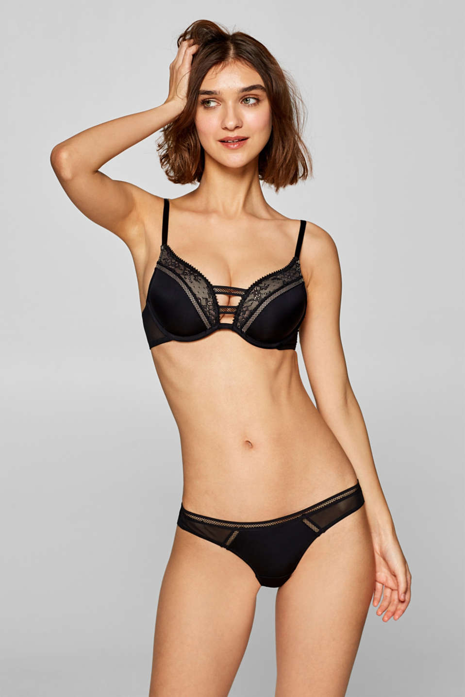 edc - Reggiseno push-up in materiale misto