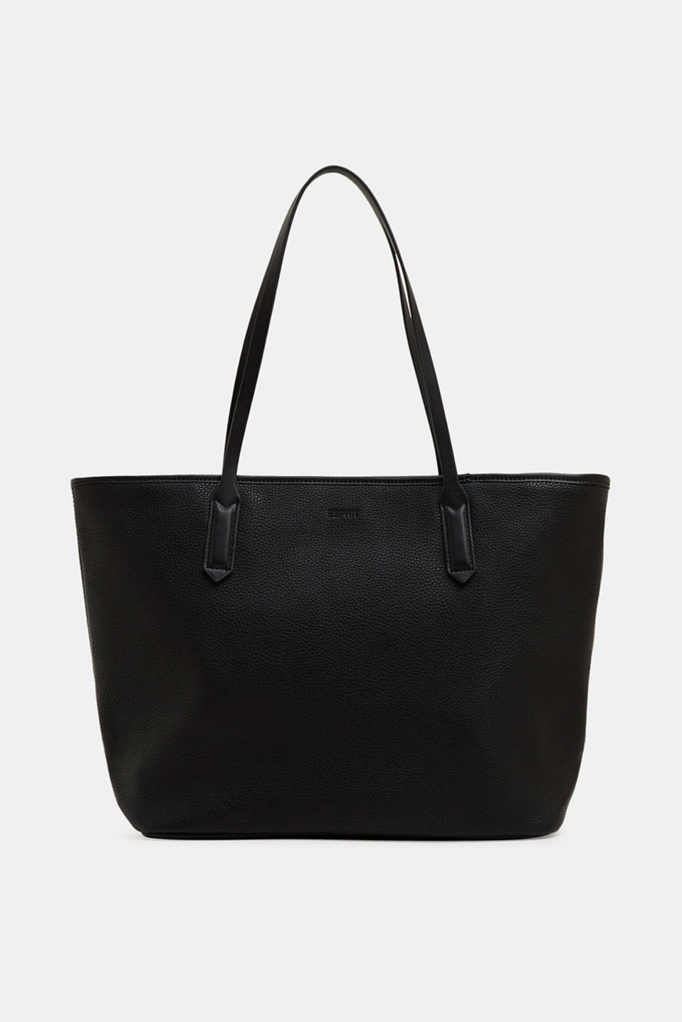 Esprit - Small faux leather shopper