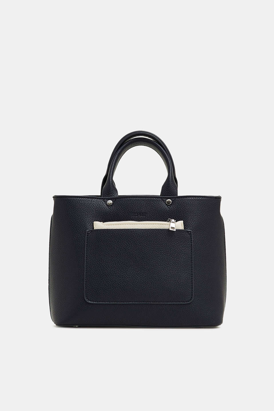 Esprit - Small faux leather city bag