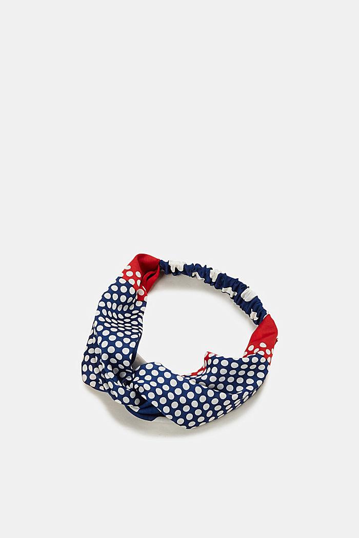Pandebånd med polka dots, GREY BLUE, detail image number 0