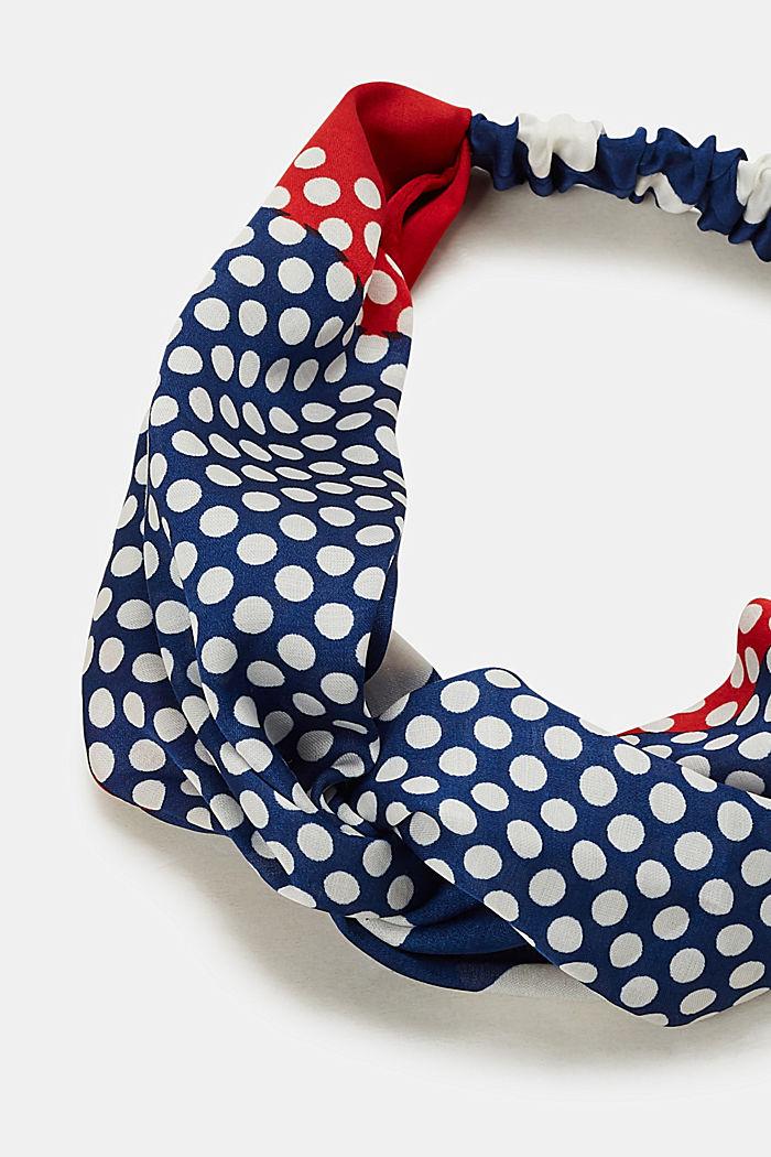Pandebånd med polka dots, GREY BLUE, detail image number 1