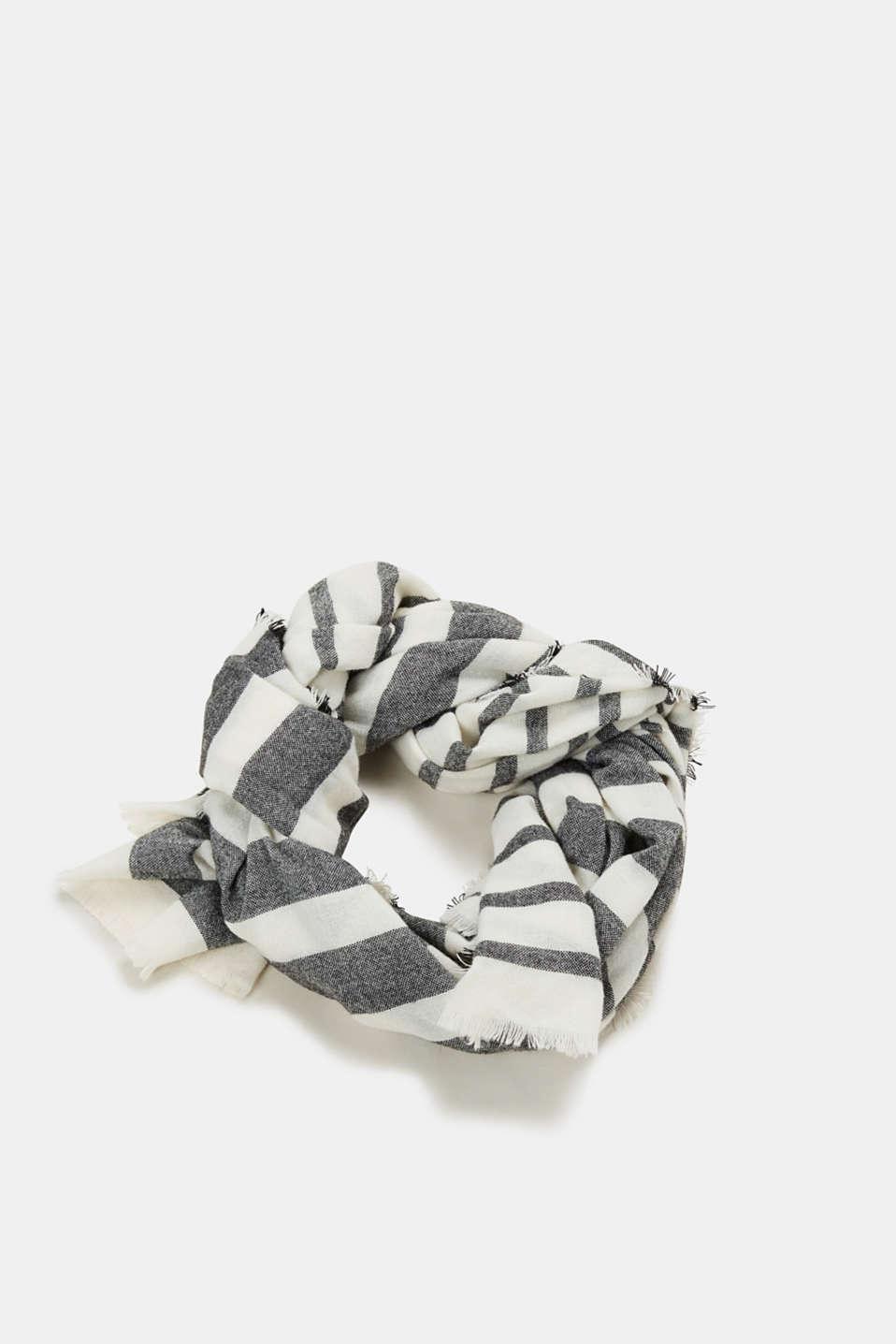 Shawls/Scarves, BLACK, detail image number 0