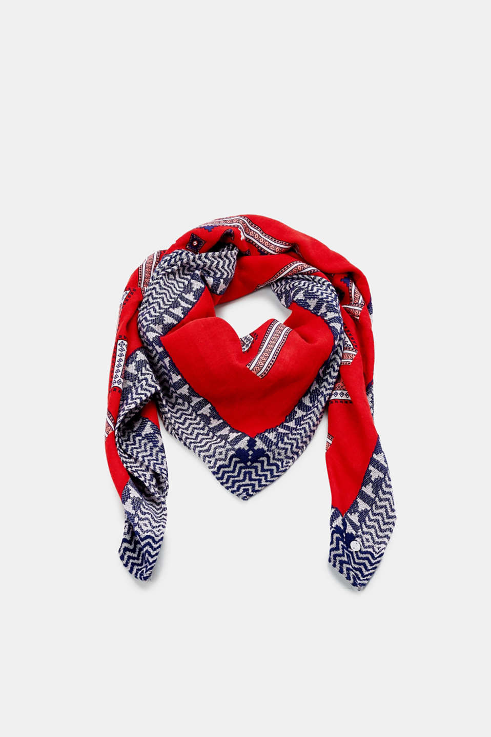 Shawls/Scarves, RED, detail image number 0