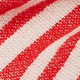 Scarf with a geometric pattern, RED, swatch