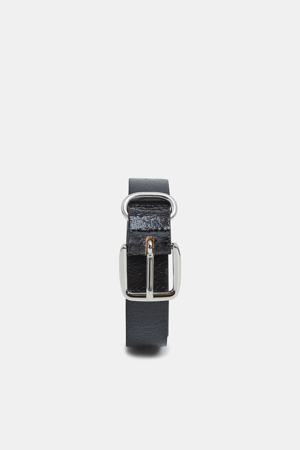Esprit - Belt in crushed leather