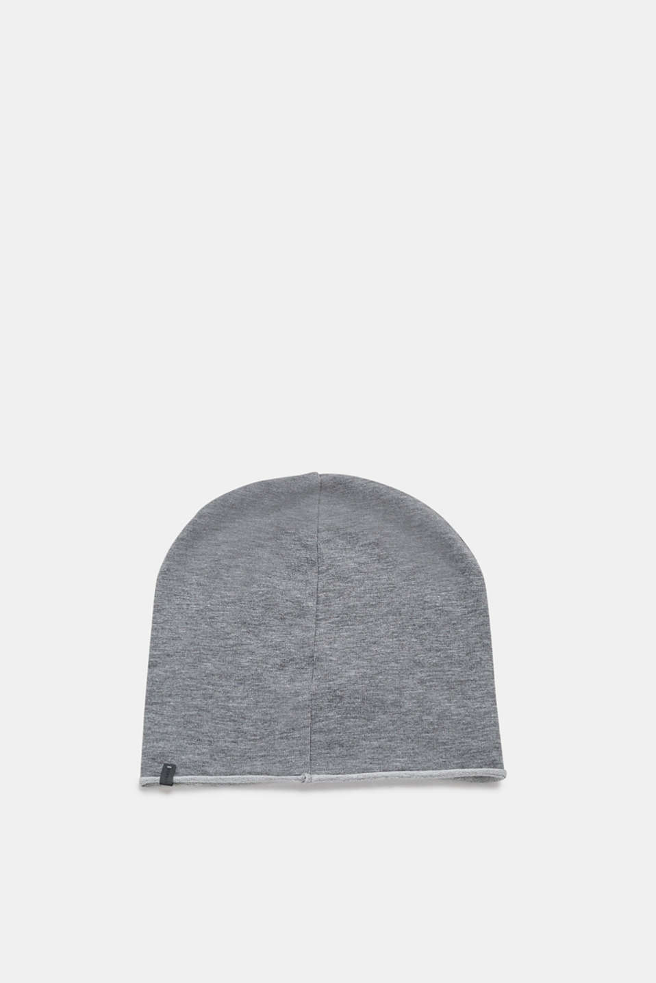 Esprit - Hat with rolled edges, made of jersey