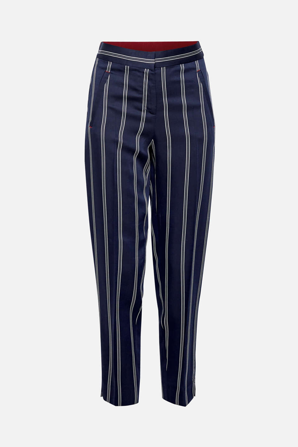 Stripe detail chinos with an elasticated waistband