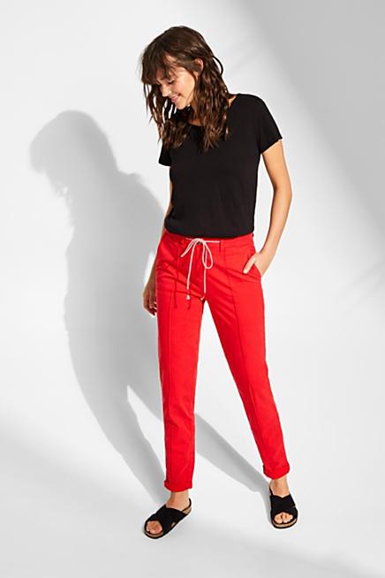 Esprit  Pantalones chinos para mujer - Comprar en la Tienda Online 9a6eaa35ad07
