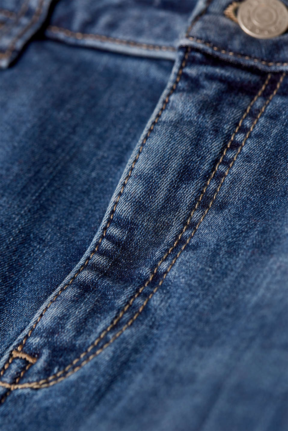 Skirts denim, BLUE MEDIUM WASH, detail image number 3