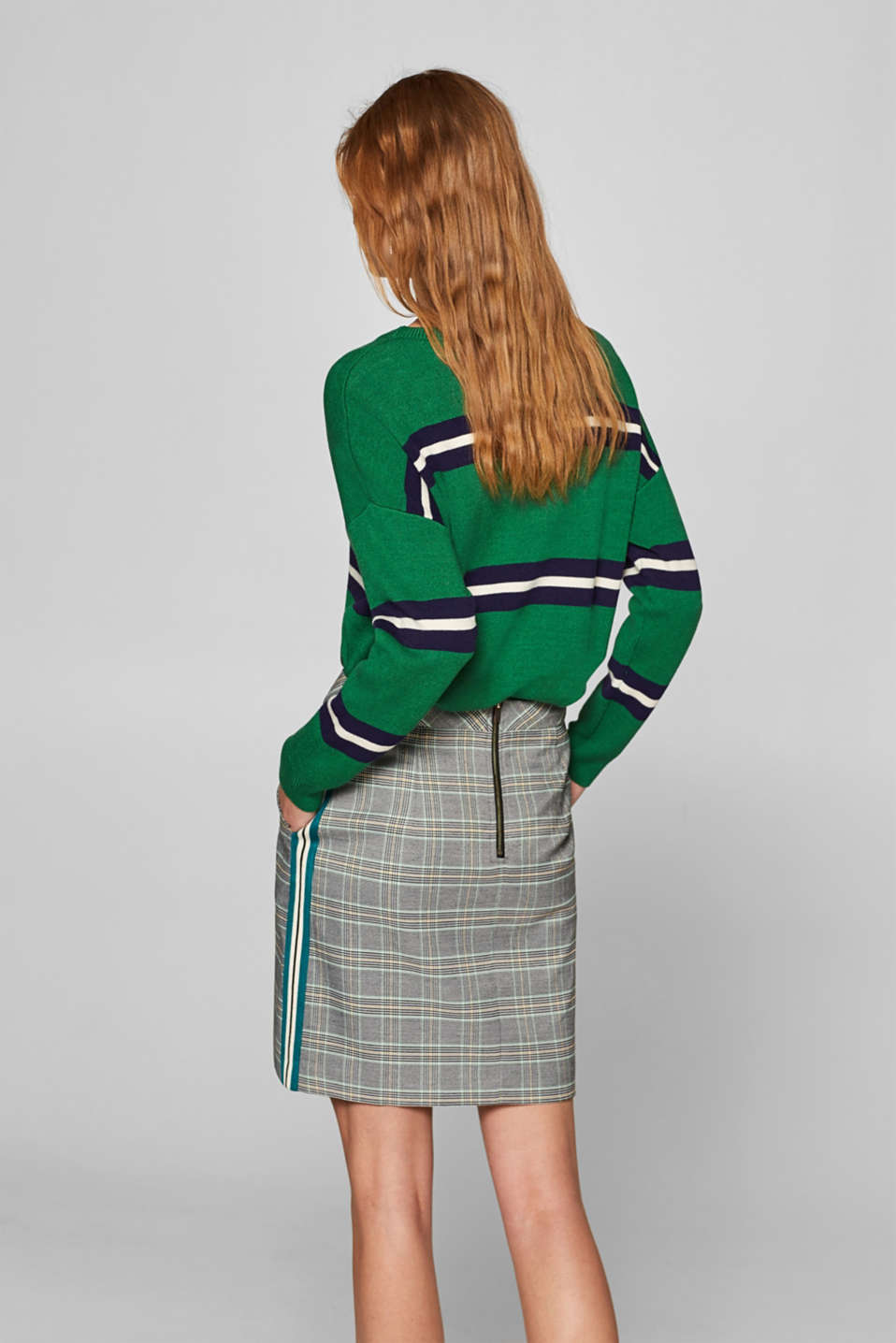Skirts woven, EMERALD GREEN, detail image number 3