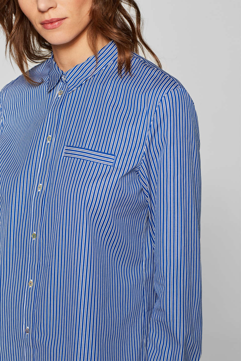 Blouses woven, BRIGHT BLUE, detail image number 2