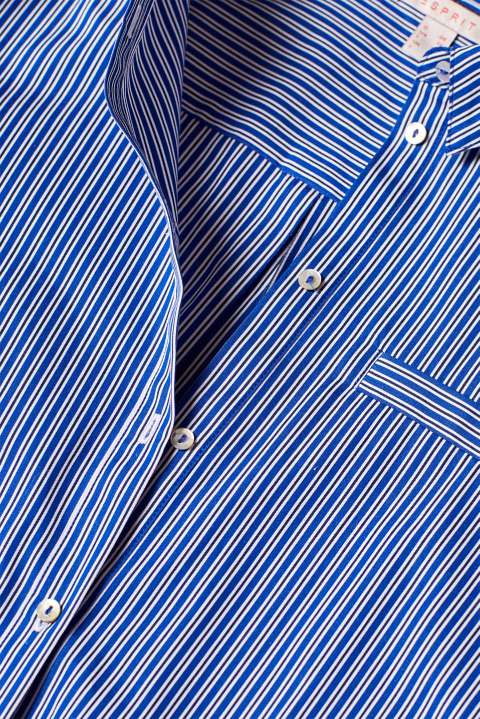 Blouses woven, BRIGHT BLUE, detail image number 4