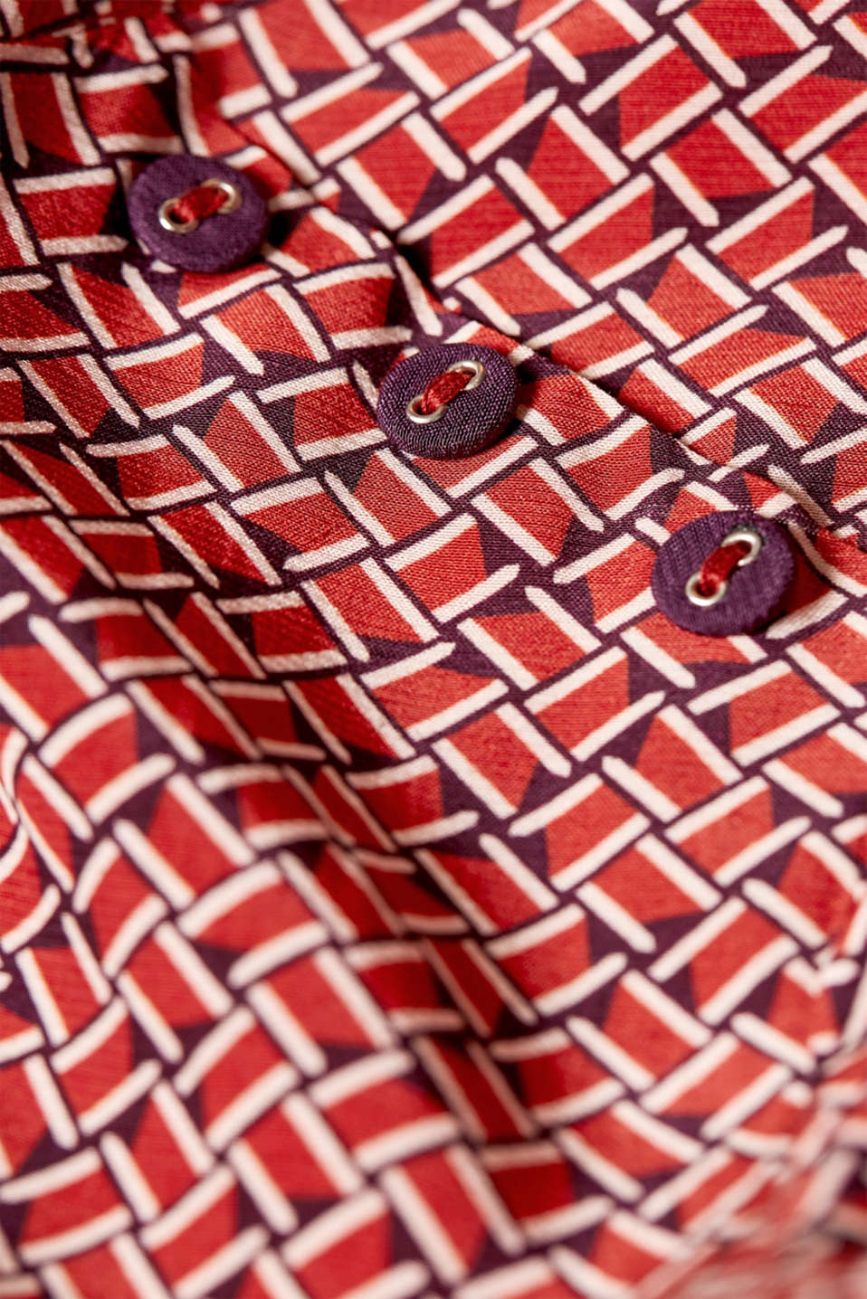Blouses woven, RED, detail image number 4