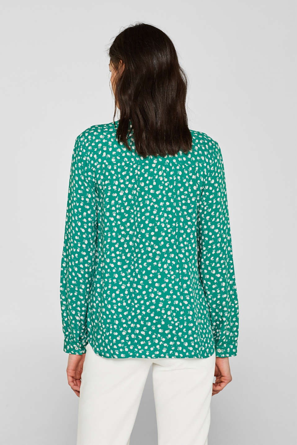 Blouses woven, GREEN, detail image number 3