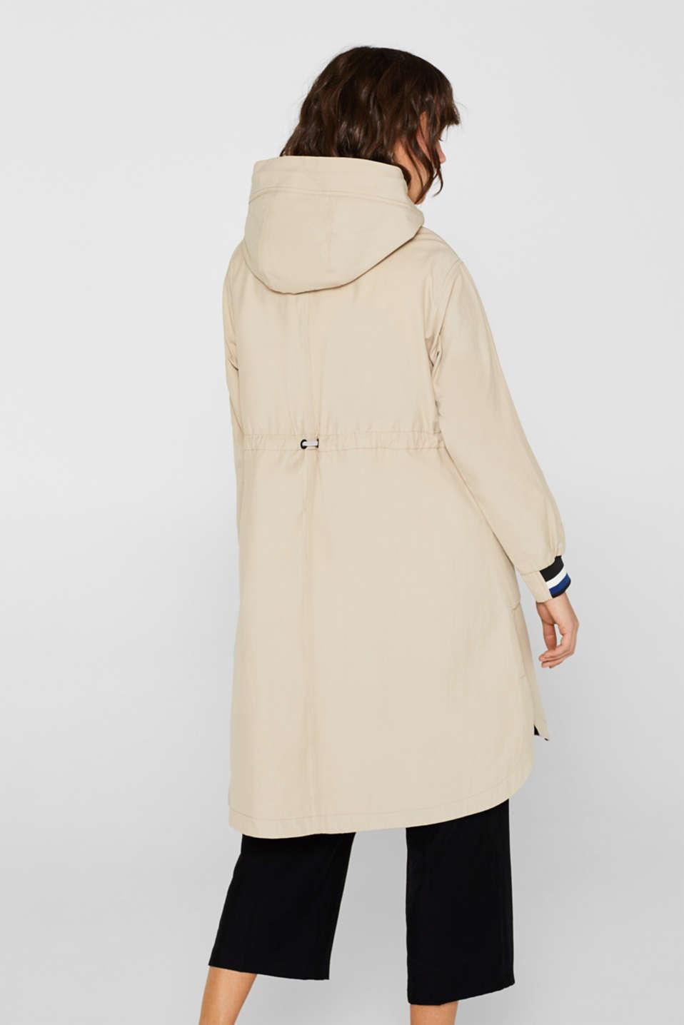 Coats woven, LIGHT BEIGE, detail image number 3