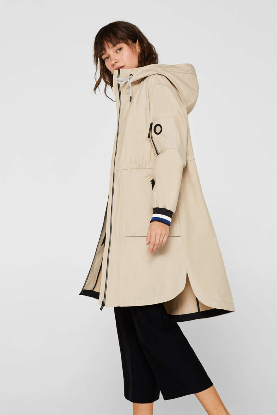 Coats woven, LIGHT BEIGE, detail image number 5