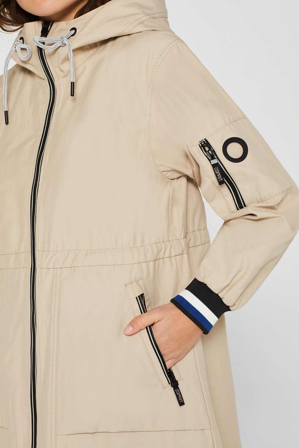 Coats woven, LIGHT BEIGE, detail image number 2