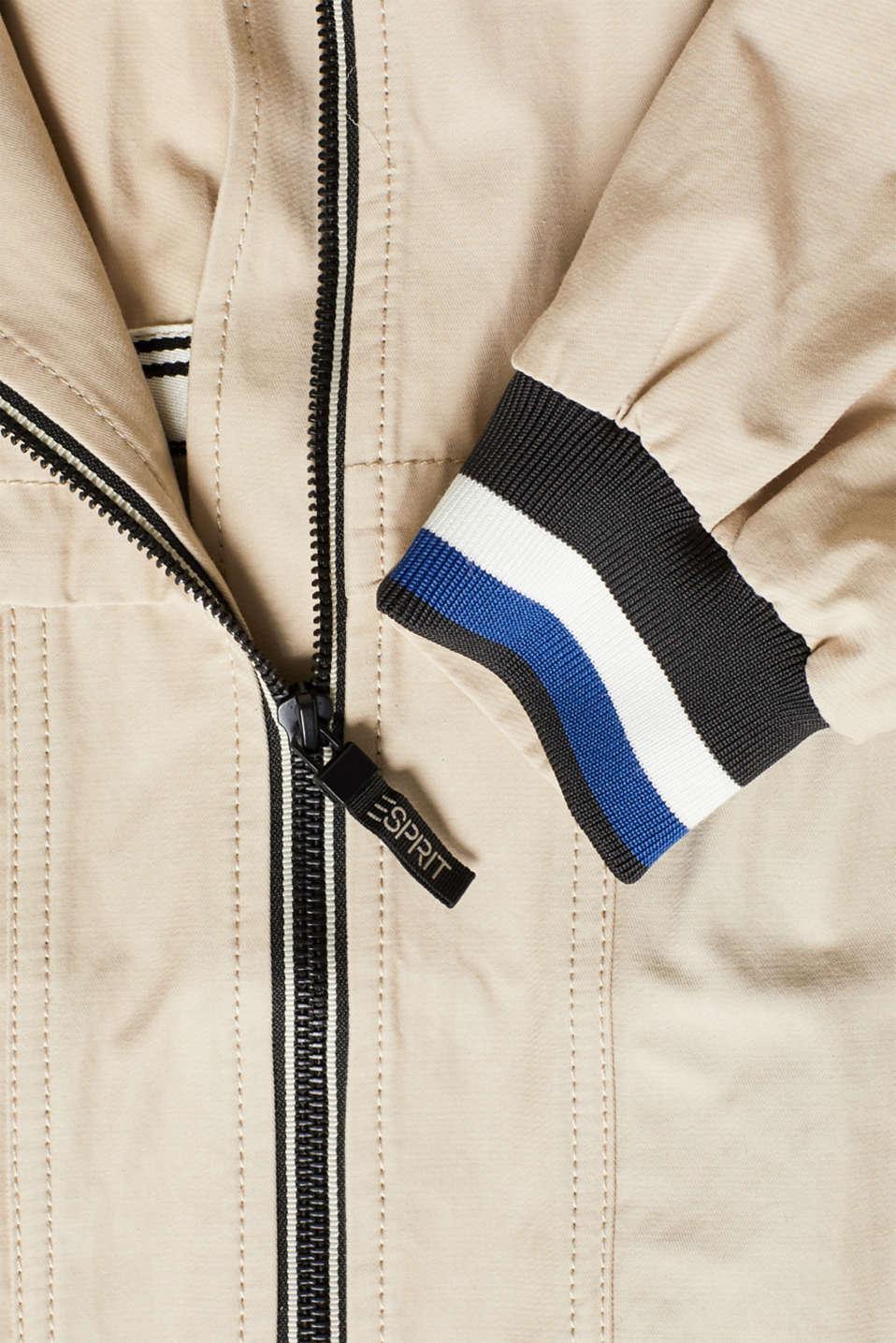 Coats woven, LIGHT BEIGE, detail image number 4
