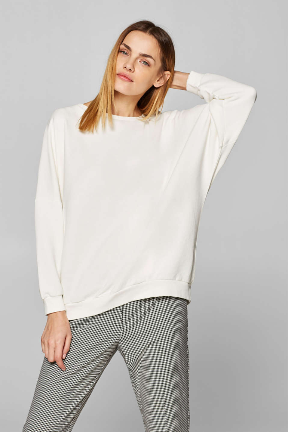 Sweatshirts, OFF WHITE, detail image number 2